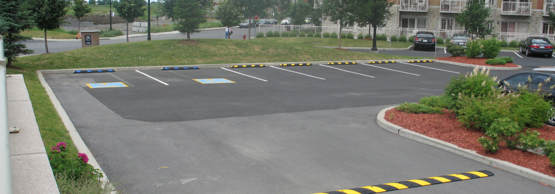 Rubber Parking Curbs
